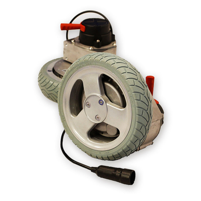 (Flat) Wheelchair Motor with 8 Inch Solid Tire
