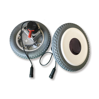 (Flat) Wheelchair Motor with 12 Inch Solid Or Pneumatic Tire